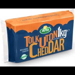 Arla tolkuton Cheddar 1kg Толкутон Чеддер 1 кг