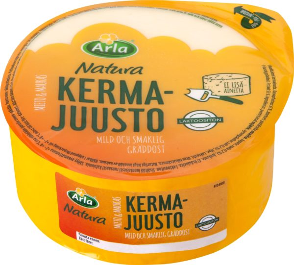 Arla natura Kermajuusto 500гр  Арла Натура Кермаюсто Сливочный сыр