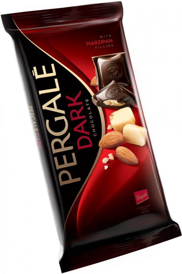 Шоколад Pergale с марципаном 100 г ЭСТОНИЯ
