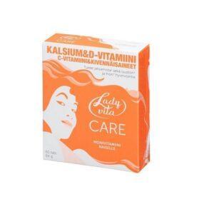 Ladyvita Care. Витаминно - минеральный комплекс для женщин. 60 таблеток.