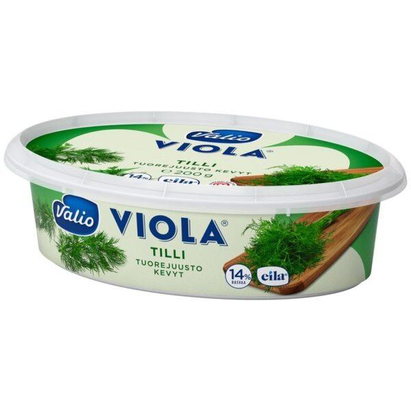 Творожный сыр Valio Viola с укропом 200g