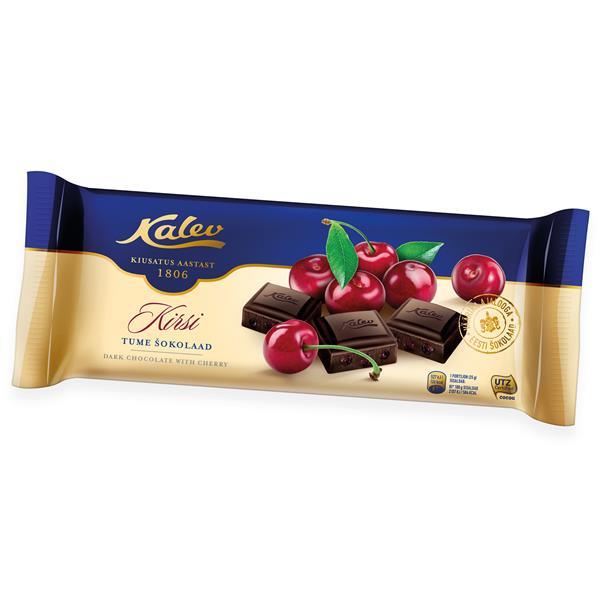 Шоколад Kalev 200g с вишней ЭСТОНИЯ