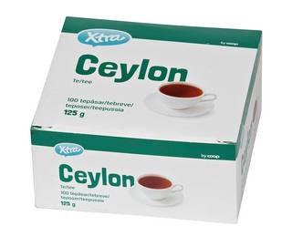 Цейлонский чай XTRA 100 шт 125 гр