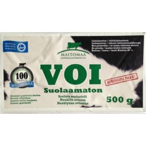 Масло Maitomaa Voi Suolaamaton (без соли) — 500 гр
