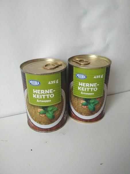 Гороховый суп hernekeitto pri  435 г