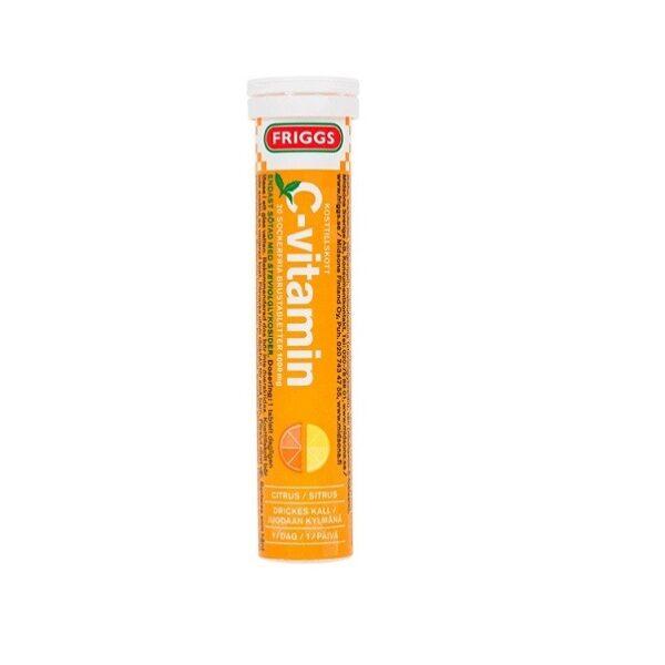 Шипучие таблетки FRIGGS n Витамин C Цитрус 20