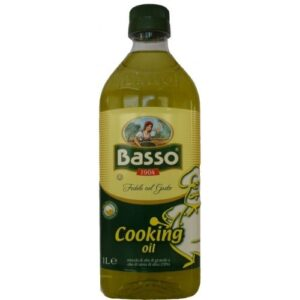 Оливковое масло для жарки Basso cooking oil 1l