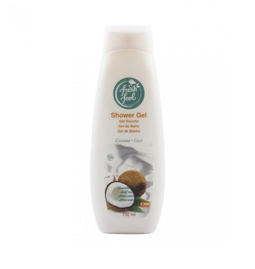 Fresh feel sg coconut 750 ml гель для душа