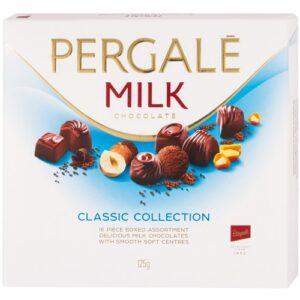 Шоколадные конфеты Ассорти Pergale Milk 373 г ЭСТОНИЯ