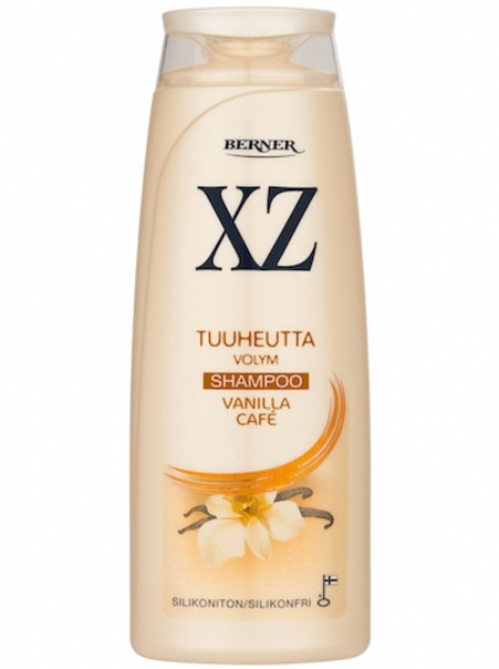 "XZ шампунь для увеличения объема ""Кофе и Ваниль"" 250мл / Tuuheuttava Vanilla Cafe Shampoo"