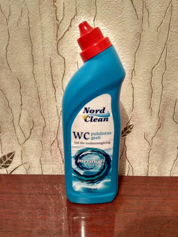 Чистящее средство для туалета Nord Clean Морской аромат