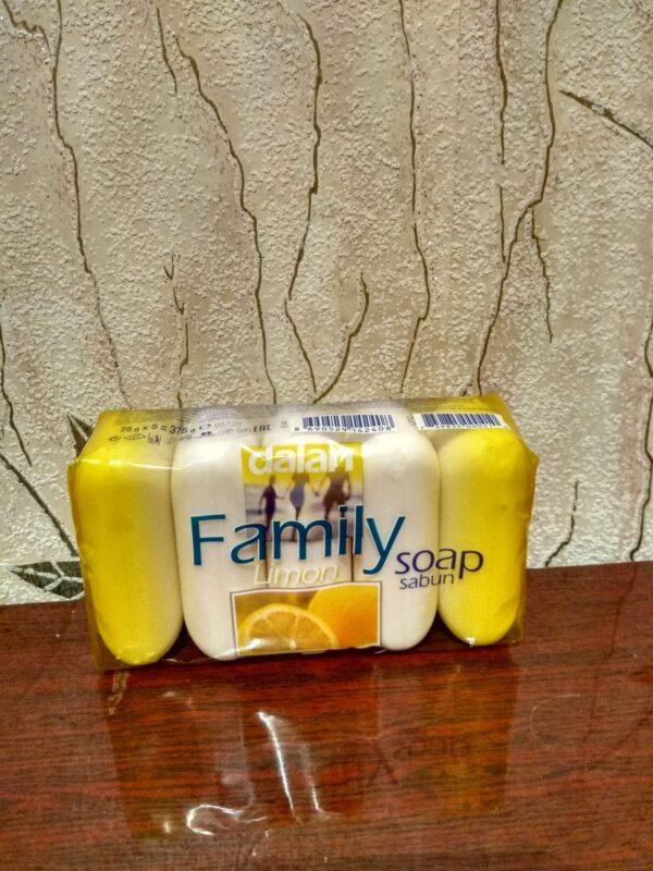 Мыло Dalan Family Лимон 5*75g
