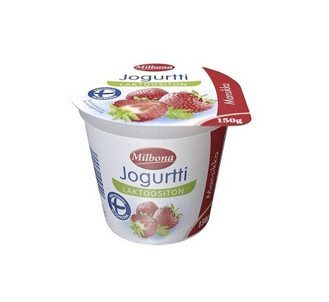 Йогурты Milbona loctoositon 150g