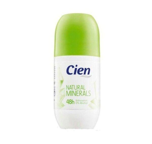Дезодорант шариковый Cien Natural minerals 50 мл
