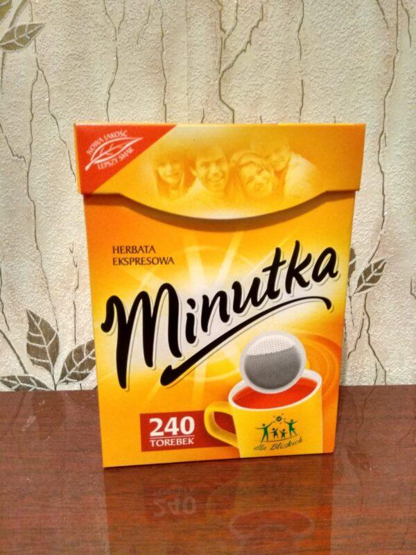 Чай Minutka 240 п