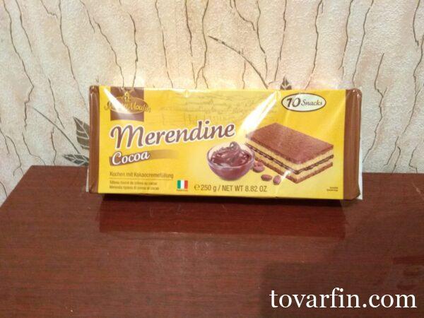 Бисквитные пирожные Cocoa 10 шт