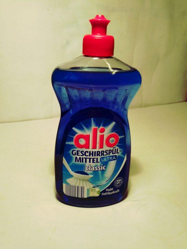 Гель концентрат для мытья посуды Alio Classic 500мл