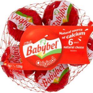 Мини сливочный сыр Бэбибель 6 шт
