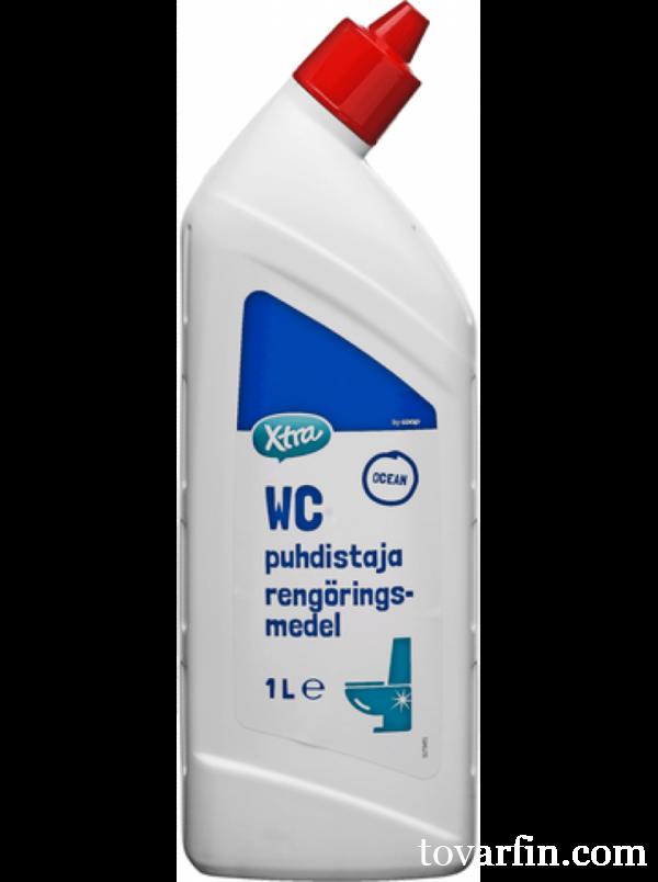 Чистящее средство для унитаза, X-Tra WC, 1 л
