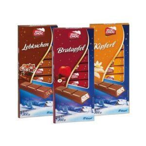 Mister Choc шоколадки с разными вкусами