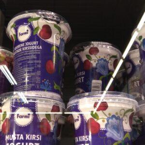 Йогурт Вишня Farmi 400 г ЭСТОНИЯ