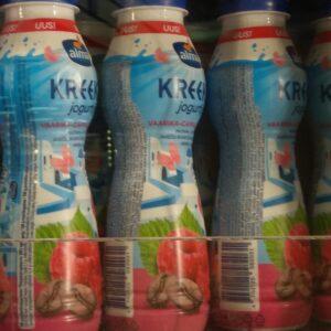 Греческий питьевой йогурт Малина Кофе Alma