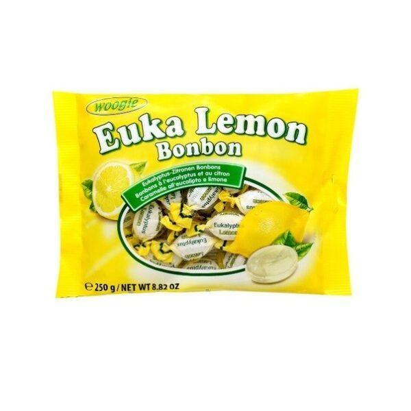 Леденцы с эвкалиптом и лимоном Woogie
