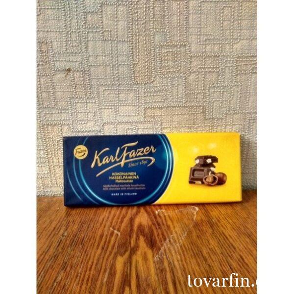 Молочный шоколад с соленой карамелью Karl Fazer 200 г