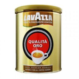 Кофе lavazza qualita oro молотый, банка 250г