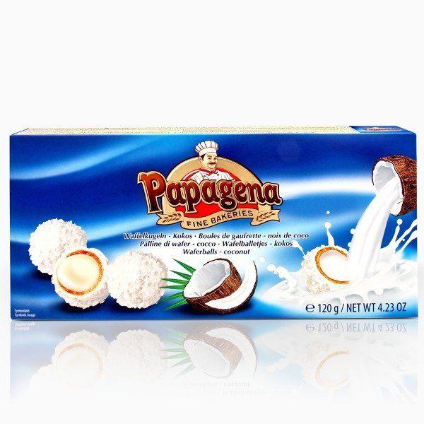 Конфеты Papagena с кокосовым пралине