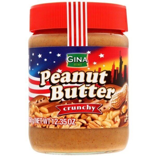 """Арахисовая паста """"Gina Peanut Butter"""" Crunchy"""