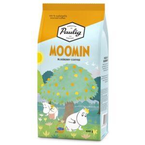 Кофе молотый Robert Paulig Moomin coffee Choko Mint вкус мятный с черникой 200 гр