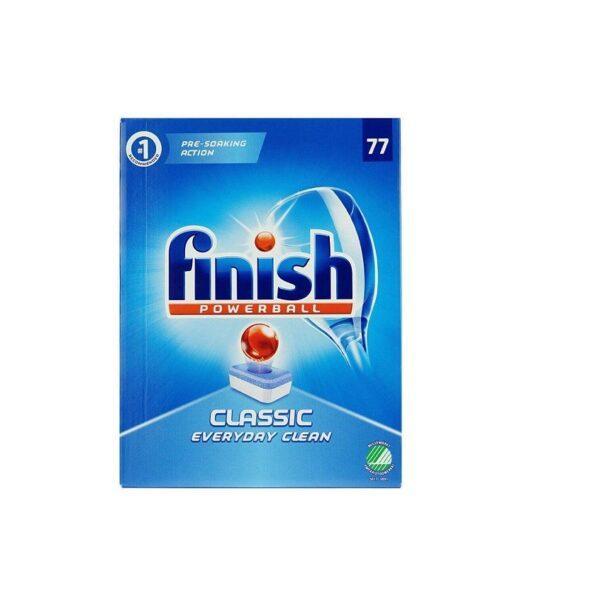 Таблетки для посудомоечной машины Finish classic powerball 77 шт 1 шт