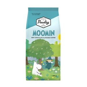 Кофе молотый Robert Paulig Moomin coffee вкус мятный с шоколадом 200 гр
