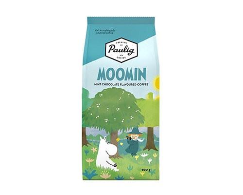 Кофе молотый Robert Paulig Moomin coffee вкус мятный с шоколадом 200 гр