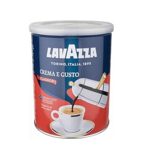 Кофе молотый в банке Lavazza Crema e Gusto 250 гр