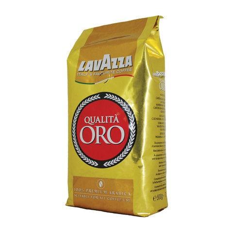Кофе в зернах Lavazza Qualita Oro 100% арабика 500 гр