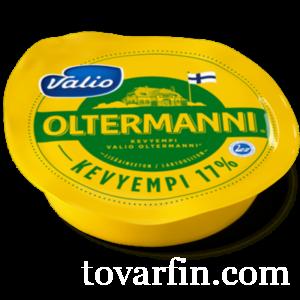 Сыр Valio Oltermanni / Ольтермани 17% кусок 250г