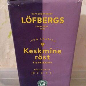Кофе молотый Lofbergs Lila Keskmine Rost 500 гр