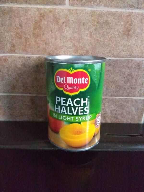 Консервированные персики в сиропе 130