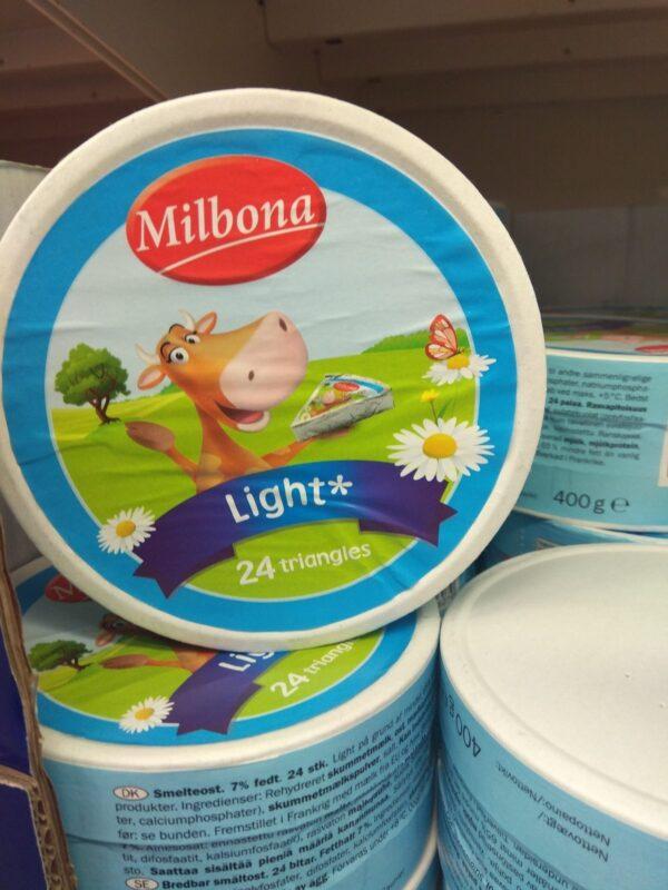 Плавленый сыр Milbona 400 г