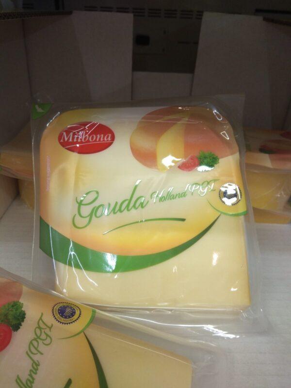 Сыр Milbona Gouda Holland 450 г