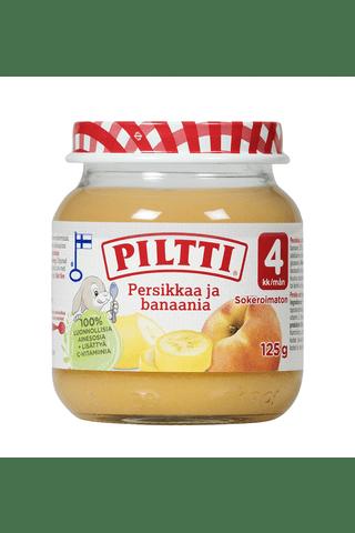 Пюре Persikkaa ja banaania Piltti