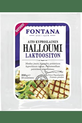 Сыр Fontana halloumi laktoositon