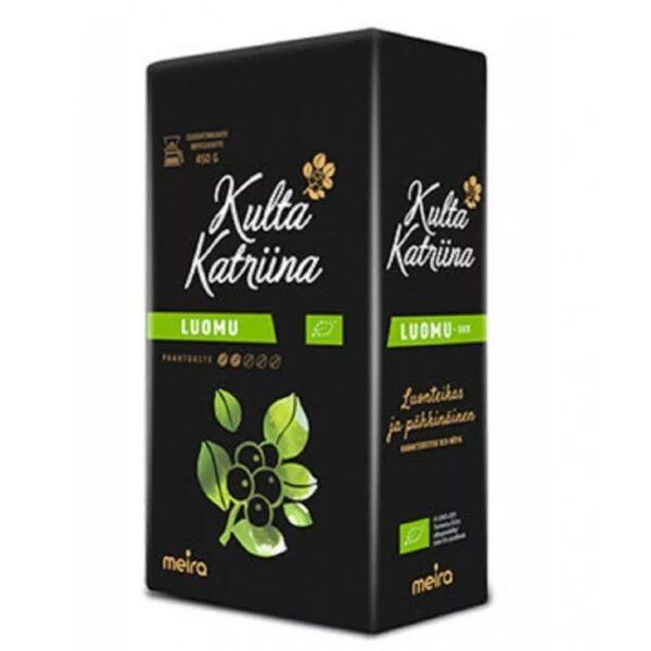 Кофе молотый Kulta katrina luomu 500г