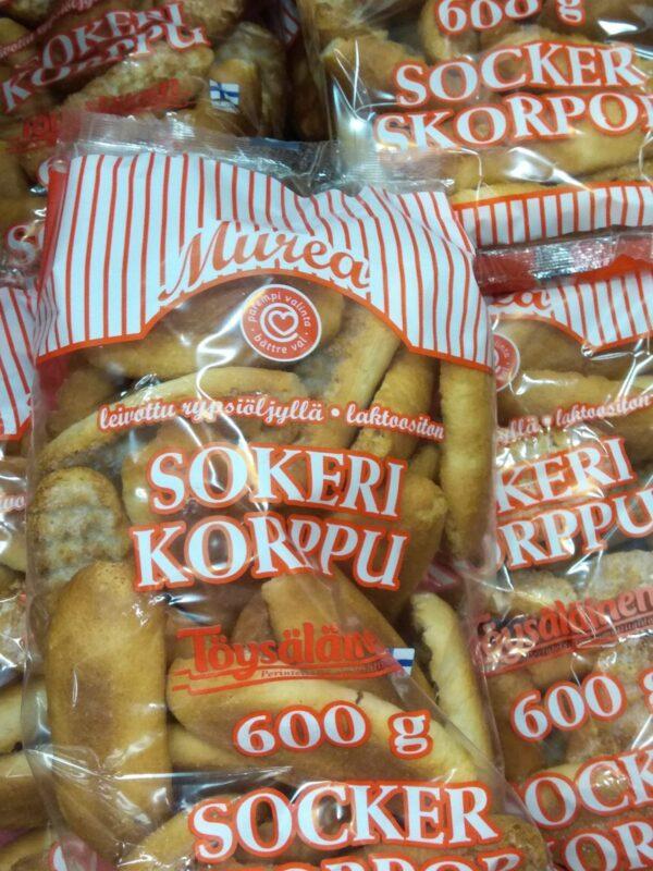 Сладкие финские сухари 600г