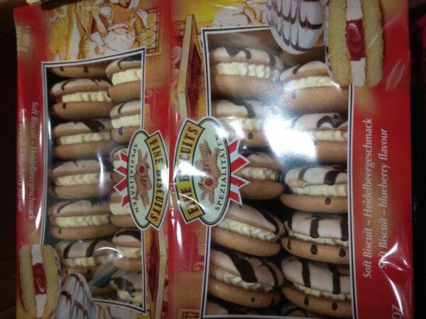 Печенье сэндвич Черника 380г