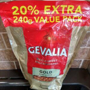 Растворимый кофе Gevalia Gold 240г