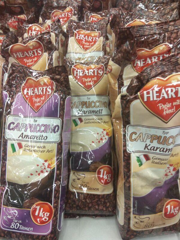 Капуччино Hearts Capuccino Caramell 1 кг