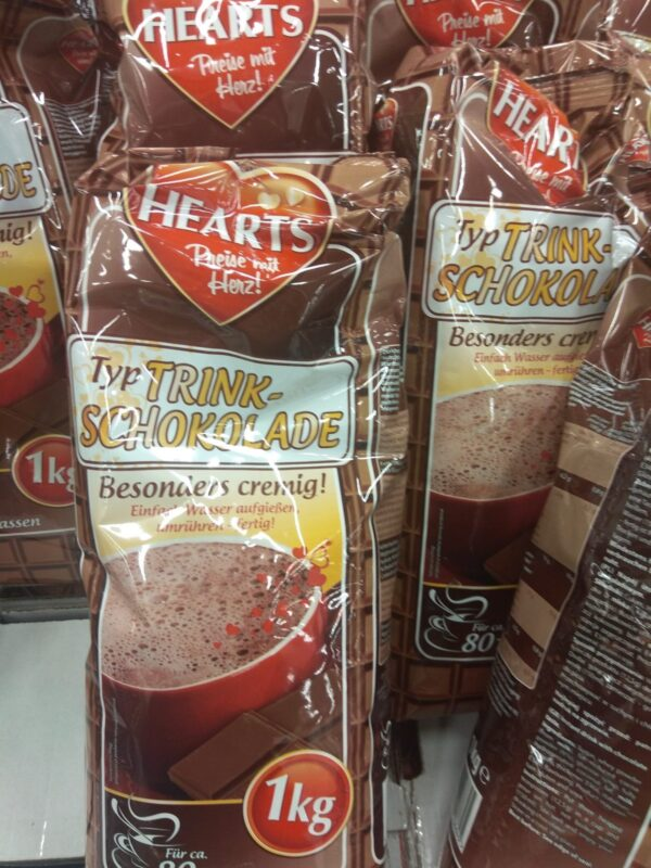 Капуччино Hearts Capuccino Шоколад 1 кг